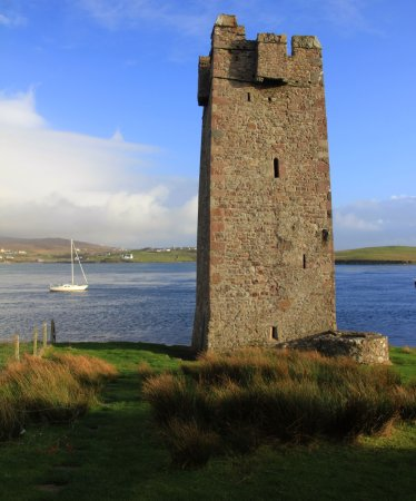 Achill Island, Irlanda: Kildavnet Castle