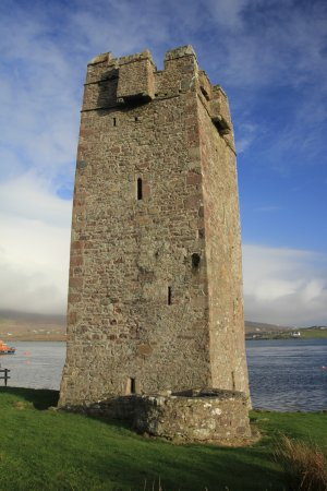 Isla de Achill, Irlanda: Kildavnet Castle
