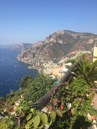 Casa Cuccaro B&B: View from the breakfast patio