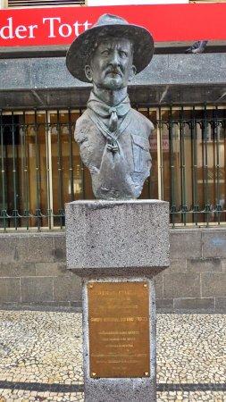 Baden Powell Bust