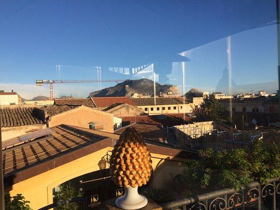Panorama dalla terrazza ristorante - Bild von Eurostars Centrale ...