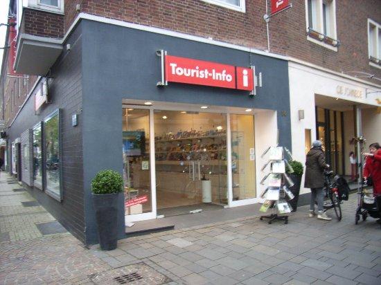 Kleve, Tyskland: Die Touristen - Information in Bocholt, auf der Nord-Straße.