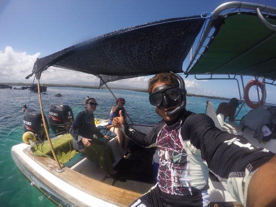 Puerto Villamil, Ecuador: TIEMPO DE IR AL AGUA