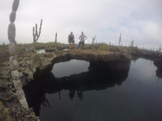 Puerto Villamil, Ecuador: ES TIEMPO DE UNA BUENA CAMINATA  Y DISFRUTAR DEL PAISAJE