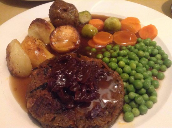 The Red Admiral: Vegan nut roast