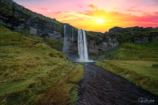 Varmahlid, Iceland: Iceland has thousands of waterfalls, each more beautiful than the last.