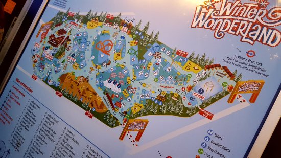 Hyde Park Winter Wonderland Map Map   Picture of Winter Wonderland, London   TripAdvisor Hyde Park Winter Wonderland Map