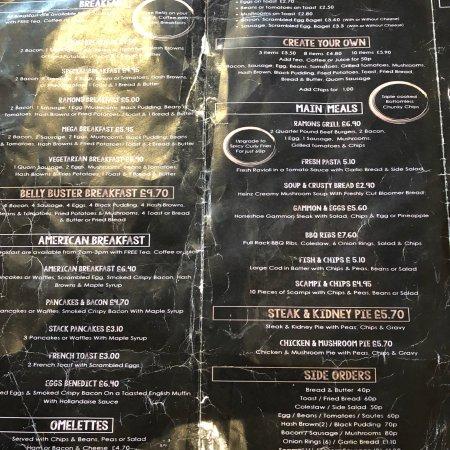 Ramones cafe cardiff