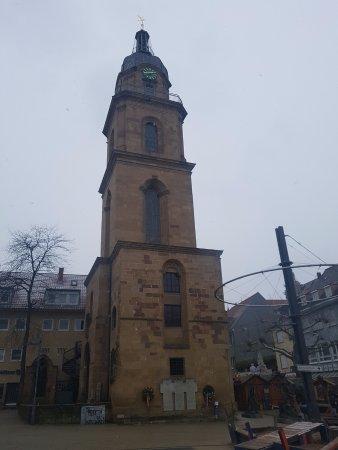 Heilbronn, Germany: Hafenmarktturm.