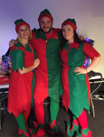Solway Holiday Village: Santa and Elfs weekend fantastic time was had by all.