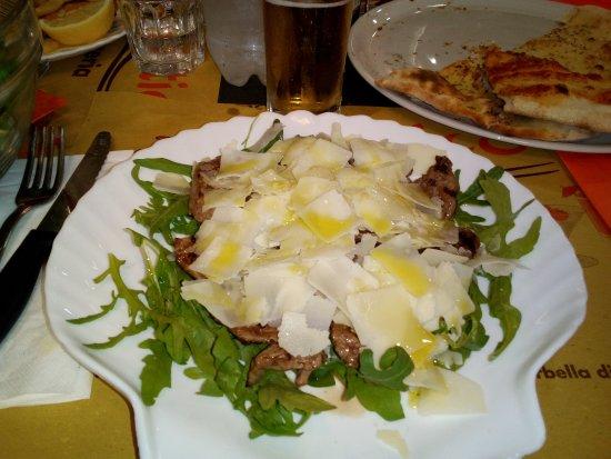Ristorante Pizzeria Adriatico: Tagliata