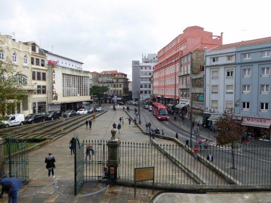 Porto District, Portugal: Utsikt från kyrktrappan