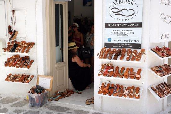 Parikia, Griechenland: The shop