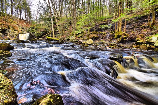 Royalston, MA: Downstream of second fall