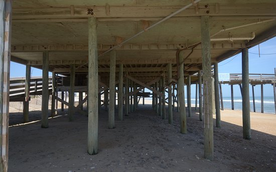 Rodanthe Pier: sotto al molo