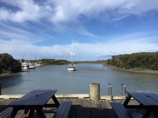 Thames, New Zealand: The Wharf Coffee House and Bar