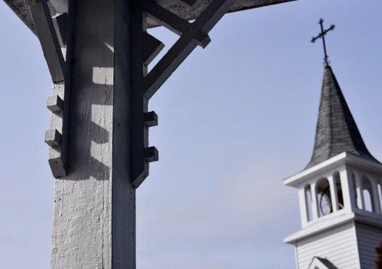 Sainte-Rose-du-Nord, Canadá: Vue de la terrasse
