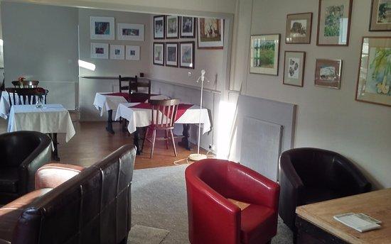 Kirkmichael, UK: The Gallery & Tea Room - Kirkmichael Hotel