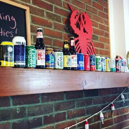 Damariscotta, ME: We serve beer and wine!