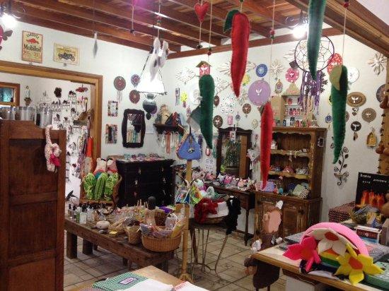 Artesanato Reciclagem Caixa De Leite ~ interior da loja Foto de Xique Xique Ateli u00ea, Arte e Artesanato, Brotas TripAdvisor