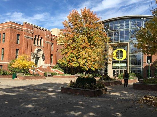 University of Oregon Campus Buildings