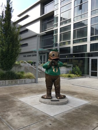 Eugene, OR: Oregon Duck Statue