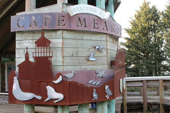 Tillamook, Όρεγκον: Cape Mears sign