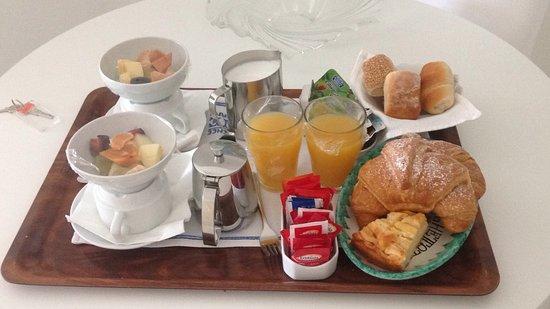 Residence Alcione: desayuno