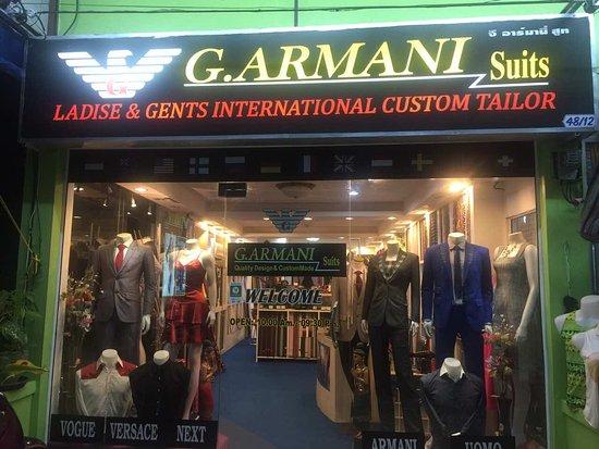 G. Armani Suit