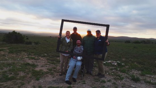 Kwandwe Private Game Reserve, Güney Afrika: The team!