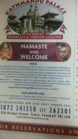 Kathmandu Palace: Welcome!