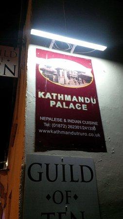 Kathmandu Palace: Outside