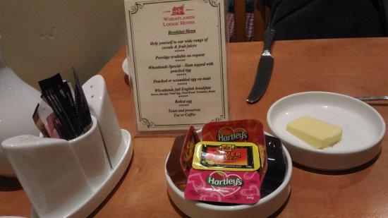 Wheatlands Lodge Hotel: 早餐是現點現做的