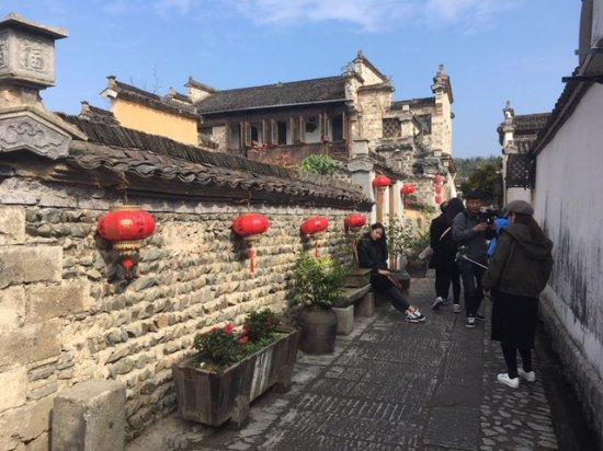 Yi County, จีน: So many alleyways to explore