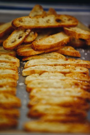 Blackheath, Australia: Baking our Crostini