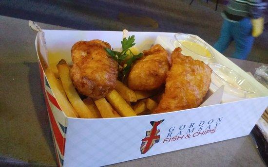 Gordon ramsay fish and chips las vegas restaurant for Gordon ramsay las vegas fish and chips