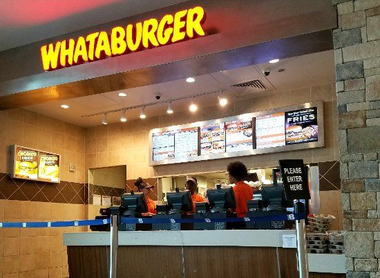 Airport Location Picture Of Whataburger Houston