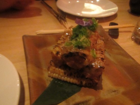 Roka Akor | San Francisco: Sweet Corn with Butter and Soy