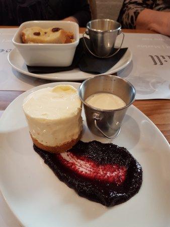 Eaton Socon, UK: Cheesecake!