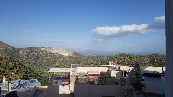 Lasithi Mesa, Grecia: Vue des terrasses superieures