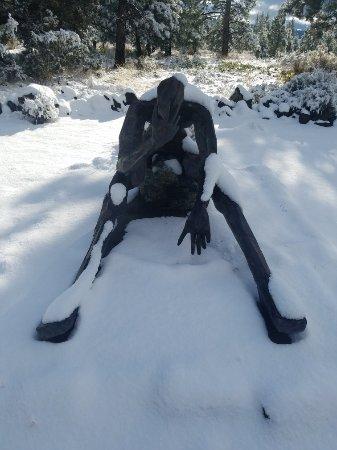 Weed, CA: Living Memorial Sculpture Garden