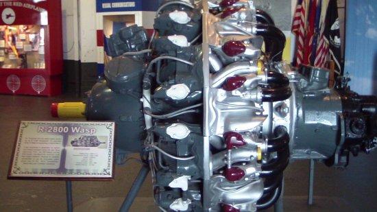 USS LEXINGTON: Airplane Engine