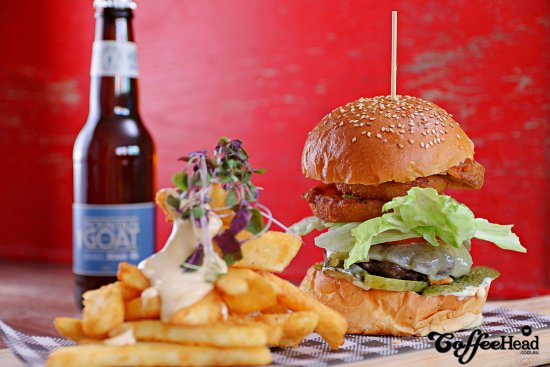 Camberwell, Australia: Burgers!
