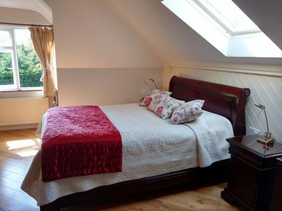 Rockcrest House: The comfiest mattress, a skylight, waking up to bird song, hardwood floors- gorgeous