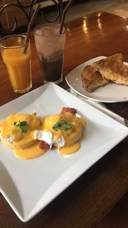 Café da manhã gostoso e limpo