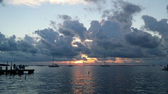 Sunset Cove Beach Resort: View from the beach