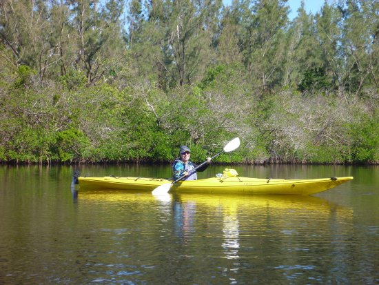 Adventure Kayaking : Me in my Necky Eskey