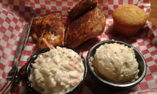 Columbia, MD : Chicken w/ Coleslaw & Potato Salad