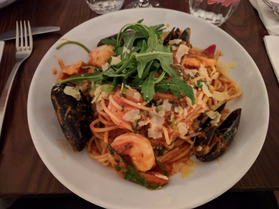 The Entrance, Australia: Seafood Pasta