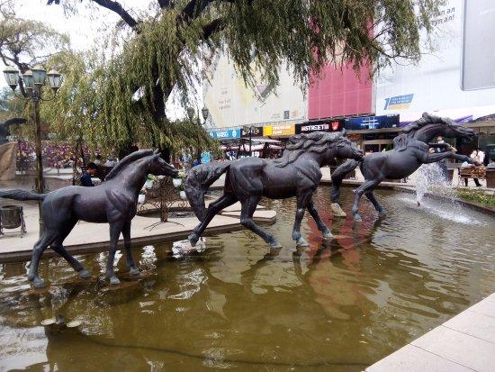 Aichurek Mall Fountains